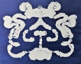 Rorschach Indigo 7 by Elsi Elizabeth Mason